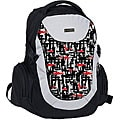 J World 'Jacque' Bio-Health Panel Red Touches Backpack