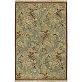 Hand-knotted Wool Rug (10&#39; x 14&#39;)