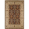 Hand-knotted Legacy New Zealand Wool Rug (6&#39; x 9&#39;)