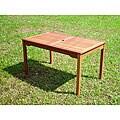 Acacia Rectangular Outdoor Dining Table