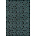 Hand-tufted Mandara Wool Area Rug (7'9 Round)