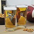 Vikings NFL Pint Glasses (Set of 2)