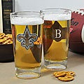 Saints NFL Pint Glasses (Set of 2)