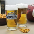 Charger NFL Pint Glasses (Set of 2)