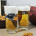Panthers NFL Pint Glasses (Set of 2)