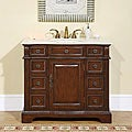 Silkroad Exclusive Hanford Single Sink Bathroom Vanity