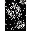 Hand-tufted Multi Stars Black Wool Rug (8' x 10')