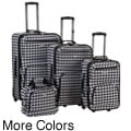 Rockland Deluxe Kensington 4-piece Luggage Set