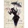 Janlynn 'New York Socialite' Rubber Stamp