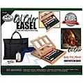Oil Color Easel Artist Kit