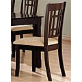 Cappuccino Splendor Dining Chairs (Set of 2)