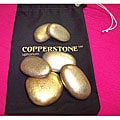 Copperstone Professional Massage Stones Set (Set of 6)