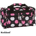 Rockland Bel-Air Multi Pink Polka Dot 19-inch Duffel Bag