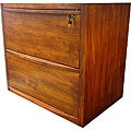 Lateral Cherry Filing Cabinet