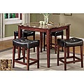 Constantini Faux Marble Top 5-piece Pub Set