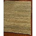 Safavieh Hand-knotted All-Natural Hayfield Beige Hemp Rug (5' x 8')
