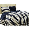 Camden Blue 3-piece Twin-size Quilt Set
