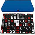 Pai Gow 32-tile Chinese Dominoes Game Set with Blue Carry Case