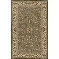 Hand-tufted Camelot Wool Rug (6' x 9')
