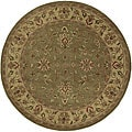 Hand-tufted Camelot Wool Rug (8&#39; Round)