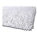 Handmade Shaggy White Premium Cotton Rug (5' x 8')
