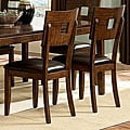 ETHAN HOME Watson Open Back Casual Dining Chair (Set of 2)