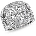 18k White Gold 1ct TDW Diamond Ring (G-H, I1)