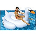 Swimline Giant Swan Inflatable Ride-On Pool Toy