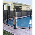 GLI 4 ft x 12 ft Safety Fence for In Ground Pools