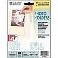 Peel and Stick Clear 4x6-inch Photo Holders (Pack of 10)