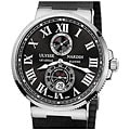 Ulysse Nardin Men's Maxi Marine Black Dial Chronometer Watch
