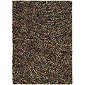 Hand-woven Mandara Wool Shag Rug (2&#39;6 x 12&#39;)