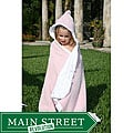 Mia Belle Baby Pretty in Pink Hooded Bath Towel