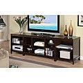 Espresso Wood LCD TV Stand Console