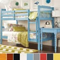 TRIBECCA HOME Simone Twin-size Honey Pine Bunk Beds