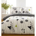 Perry Ellis Asian Lilly 7-piece Bed in a Bag with Sheet Set