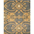 Hand-tufted Brandon Abstract Wool Rug (7&#39;9 x 9&#39;9)