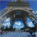 Eifel Tower Canvas Wall Art (China)