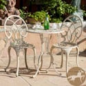 Christopher Knight Home Anacapa Off-white Bistro Set
