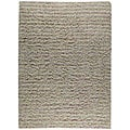 Hand-knotted Goth Multi Stripe Wool Rug (6'6 x 9'9)