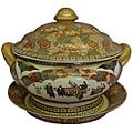 Satsuma Rose Porcelain Tureen
