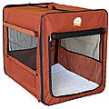 GoPetClub 32-inch Dog Folding Soft Crate