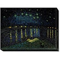 Vincent Van Gogh 'Starry Night Over the Rhone' Canvas Art