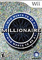 Wii - Who Wants To Be A Millionaire? - By UbiSoft