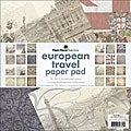 Paper House 'Europe' Double-Sided 12x12 Paper Pad (Package of 24 Sheets)