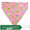 Ruff Stuff USA Pink Happy Birthday Dog Collar Bandana