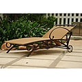 Valencia Resin Wicker/ Steel Frame Multi-Position Chaise Lounge
