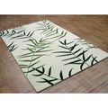 Hand-tufted Metro Off-white Wool Rug (5&#39; x 8&#39;)