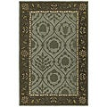 Turner Creek Indoor/ Outdoor Green Rug (3' x 5')