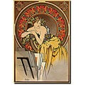 Alphonse Mucha 'Mucha' Canvas Art